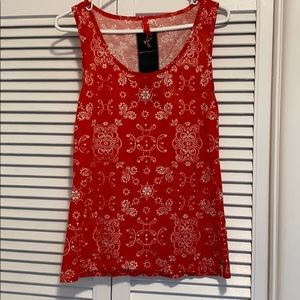 Free People One Teaspoon Paisley Tank
